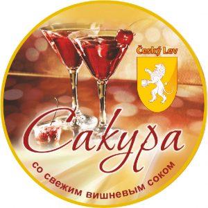 Слабоалкогольный коктейль со вкусом вишни